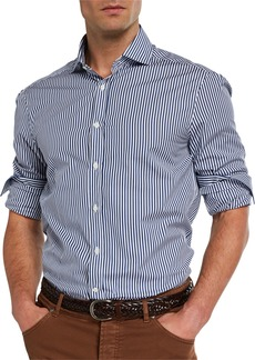 Brunello Cucinelli Men's Striped Sport Shirt