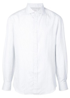 Brunello Cucinelli micro-stripe shirt
