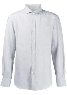 Brunello Cucinelli micro striped shirt