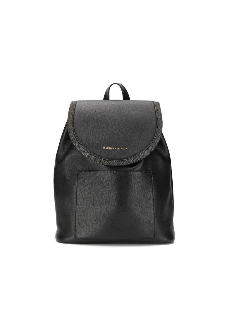 Brunello Cucinelli micro stud backpack