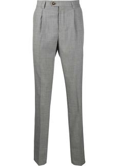 Brunello Cucinelli mid-rise tailored trousers