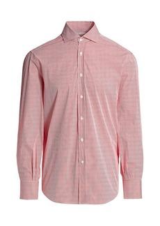 Brunello Cucinelli Mini Bengal Stripe Shirt