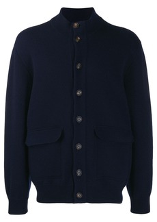 Brunello Cucinelli mock-neck knit cardigan