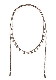 Brunello Cucinelli Monili And Diamante Coin Wrap Necklace