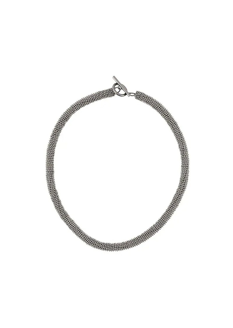 Brunello Cucinelli monili chain necklace