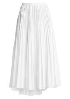 Brunello Cucinelli Monili Pleated Midi Skirt