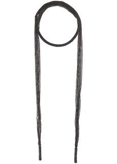 Brunello Cucinelli Monili scarf necklace