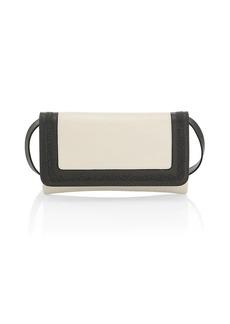 Brunello Cucinelli Monili-Trimmed Colorblock Leather Clutch