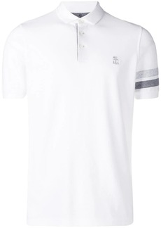 Brunello Cucinelli monogrammed polo shirt