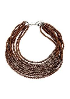 Brunello Cucinelli Multi-Strand Beaded Necklace