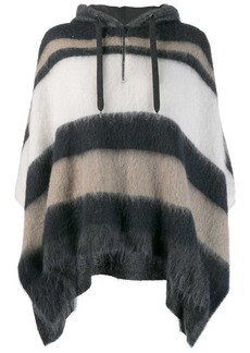 Brunello Cucinelli oversized hooded sweater