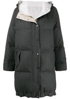 Brunello Cucinelli oversized padded coat