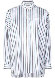Brunello Cucinelli oversized striped shirt