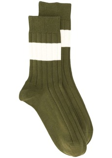 Brunello Cucinelli paneled socks