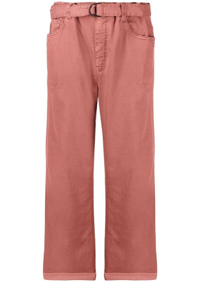 Brunello Cucinelli paperbag jeans