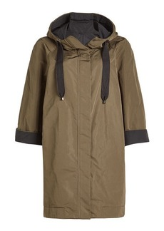 Brunello Cucinelli Parka with Silk