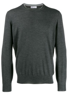 Brunello Cucinelli patch-embellished jumper
