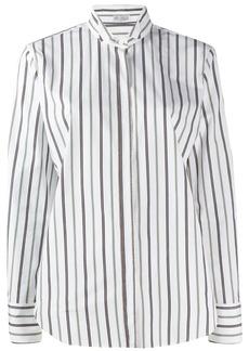 Brunello Cucinelli pinstripe tailored shirt