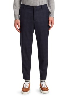 Brunello Cucinelli Plaid Leisure Cargo Trousers