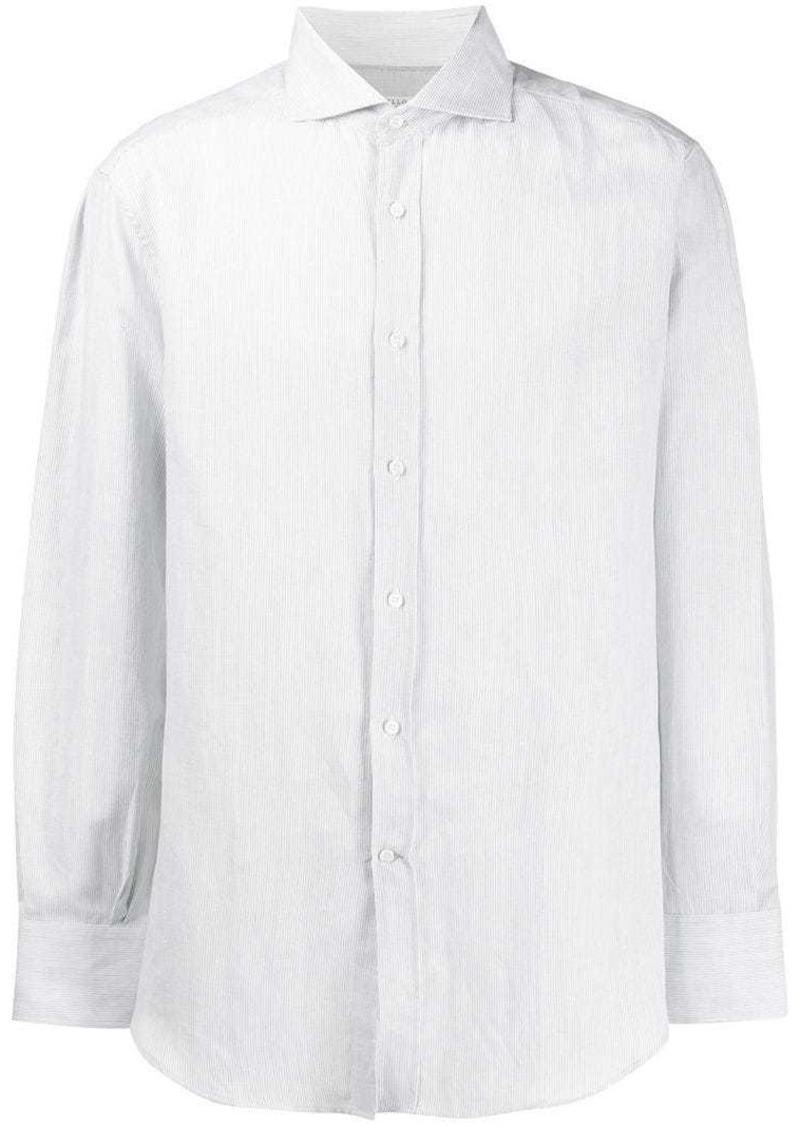 Brunello Cucinelli plain button shirt