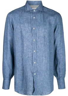 Brunello Cucinelli plain buttoned shirt