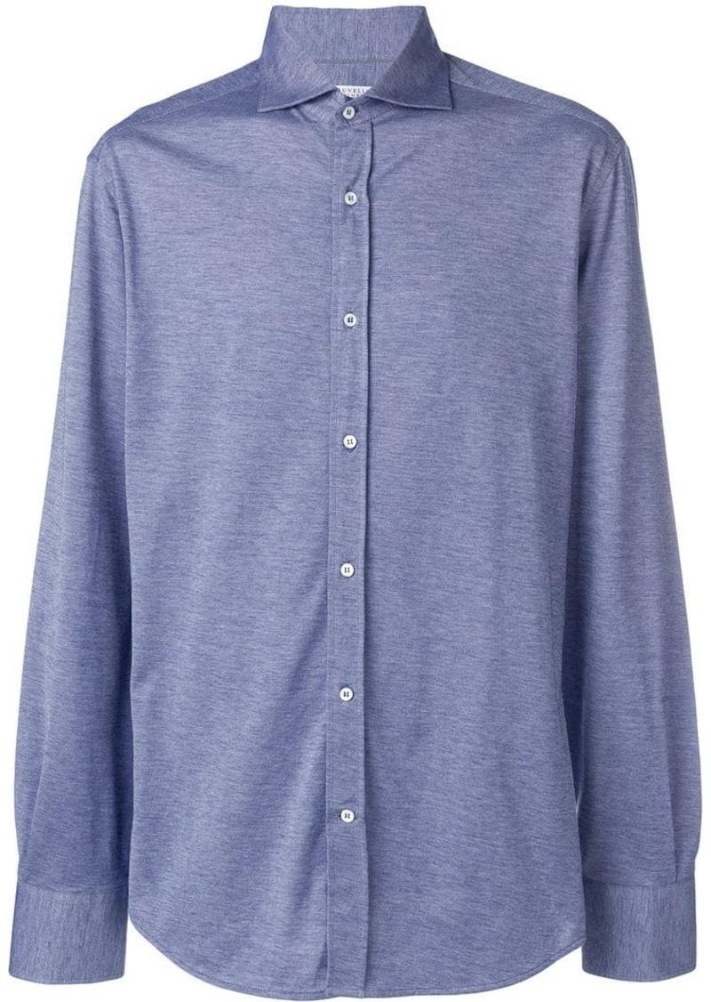 Brunello Cucinelli plain classic shirt