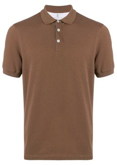 Brunello Cucinelli plain polo shirt
