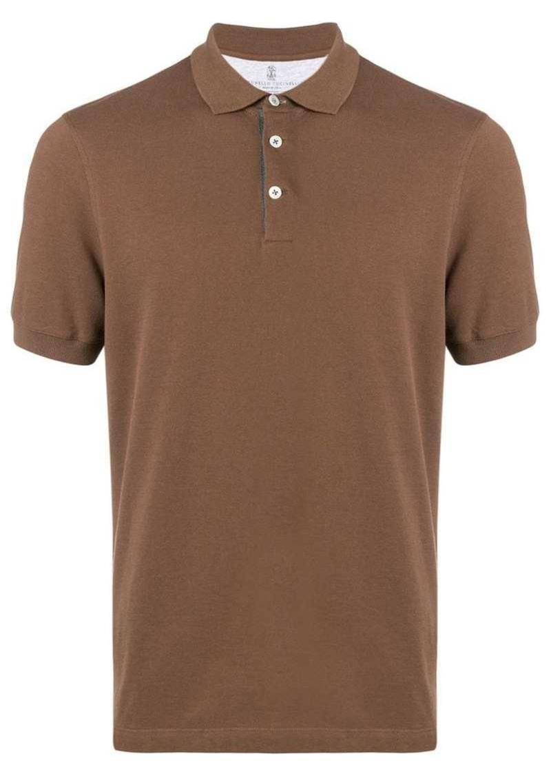 Brunello Cucinelli plain polo shirt