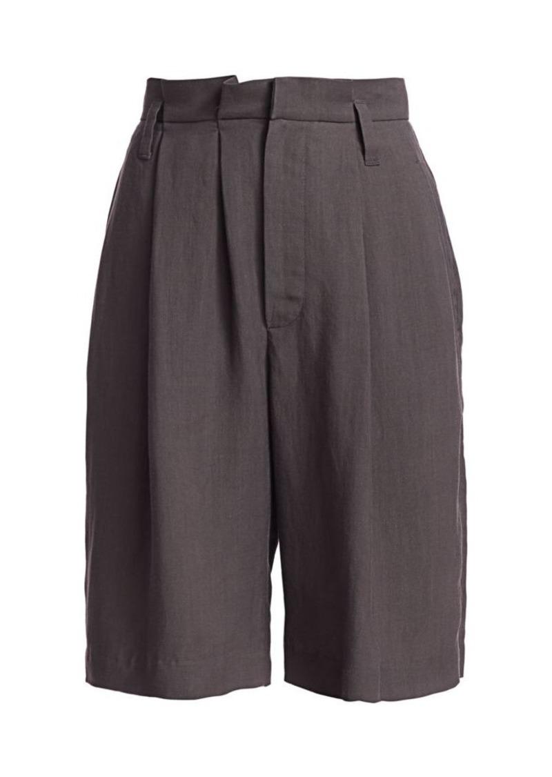 Brunello Cucinelli Pleat-Front Bermuda Shorts