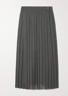 Brunello Cucinelli Pleated Voile Skirt