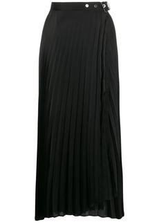 Brunello Cucinelli pleated wrap skirt