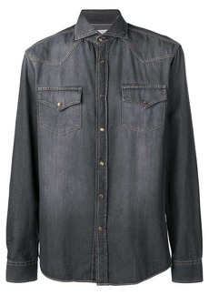 Brunello Cucinelli pointed collar shirt