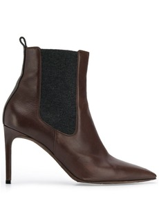 Brunello Cucinelli pointed toe ankle boots