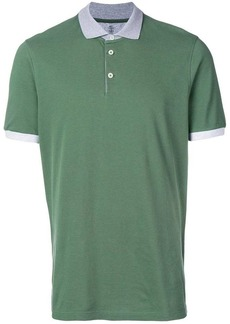 Brunello Cucinelli polo shirt with contrasting collar