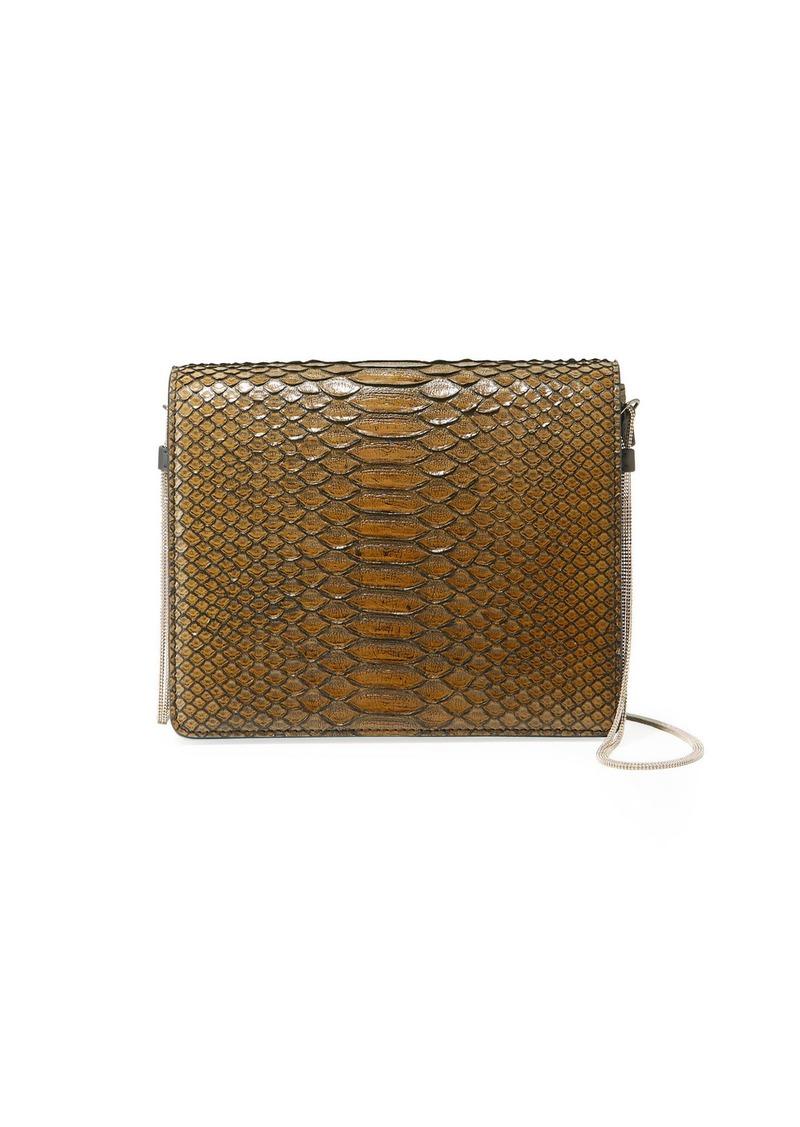 Brunello Cucinelli Python Chain Crossbody Bag
