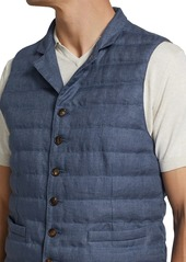 Brunello Cucinelli Quilted Linen Vest