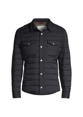 Brunello Cucinelli Quilted Shirt Jacket