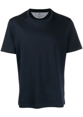 Brunello Cucinelli regular fit plain t-shirt