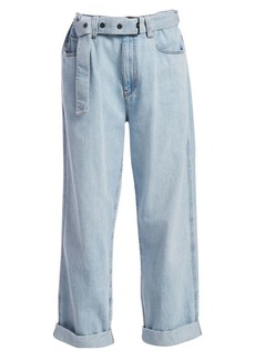 Brunello Cucinelli Relaxed Belted Jeans