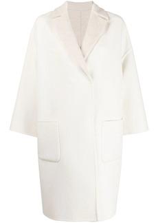Brunello Cucinelli reversible cocoon coat