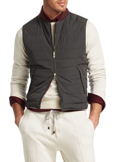 Brunello Cucinelli Reversible Down Vest