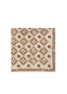 Brunello Cucinelli Reversible Floral Medallion & Tapestry Print Pocket Square