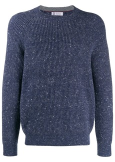 Brunello Cucinelli ribbed jumper