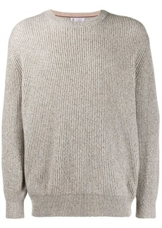 Brunello Cucinelli ribbed knit jumper