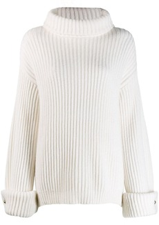 Brunello Cucinelli ribbed knit sweater