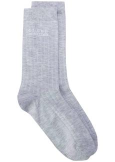 Brunello Cucinelli ribbed mid-length socks