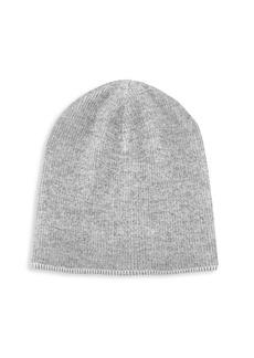 Brunello Cucinelli Ribbed Vanise Cashmere Hat