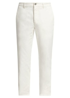 Brunello Cucinelli Roll-Cuff Flat Front Pants