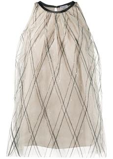 Brunello Cucinelli sequin detail blouse