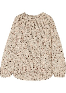 Brunello Cucinelli Sequined Chunky-knit Sweater